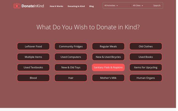 DonateInKind.in