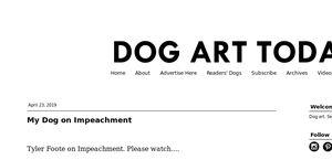Dog Art Today
