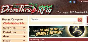 DriveThruRPG Reviews - 7 Reviews of Drivethrurpg.com   Sitejabber