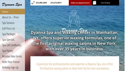 Dyanna Body & Nail Salon Spa