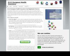 E111 European Health Insurance