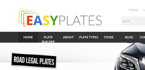 Easy Number Plates