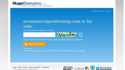 eCommerce Positioning