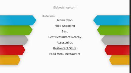 Elebestshop.com