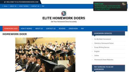 Hire Elite Homework Doers