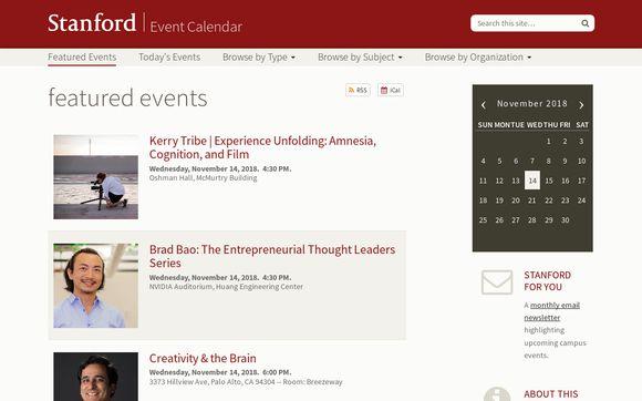 Events.stanford.edu