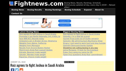 Fightnews