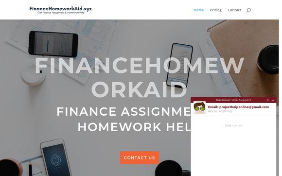 Financehomeworkaid.xyz