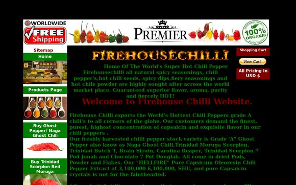 Firehousechilli.com -
