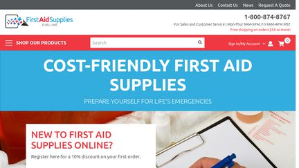 First Aid Supplies Online