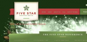 Fivestarchristmastrees.com
