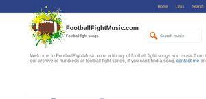 Footballfightmusic.com