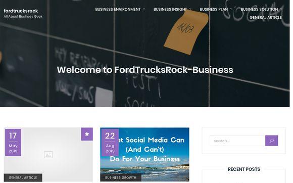 Ford Trucks Rock