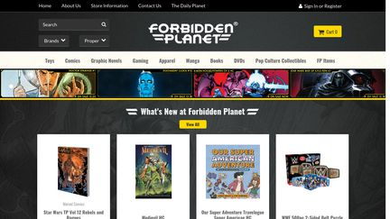 Forbidden Planet NYC