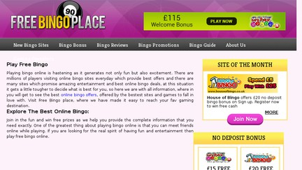 Freebingoplace.com