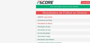 Fscore.es