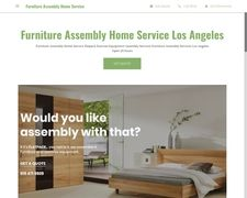 Furniture Assembly Home Service