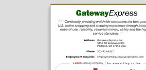 Gateway Express Inc