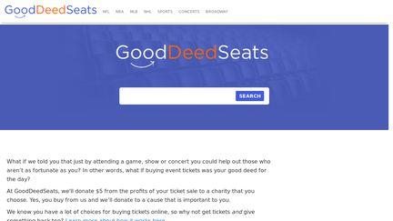 GoodDeedSeats