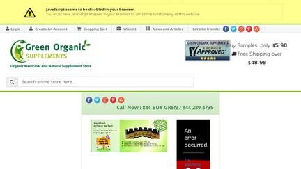 GreenOrganicSupplements