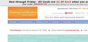 Greetingcarduniverse reviews 8 reviews of greetingcarduniverse greetingcarduniverse greetingcarduniverse m4hsunfo