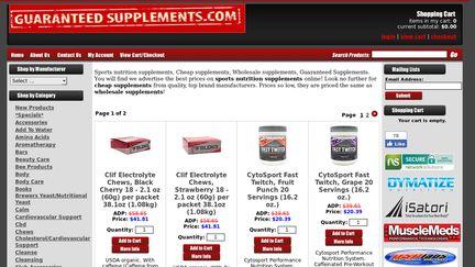 Guaranteed Supplements