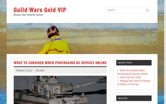 Guild Wars Gold VIP