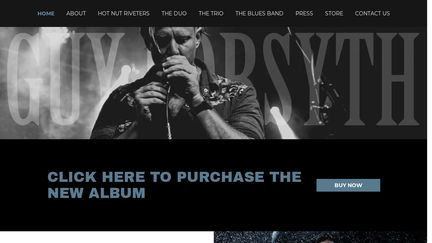 The Official Website for Guy Forsyth