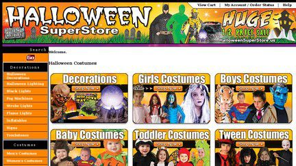Halloweensuperstore.us