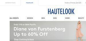 912f17867d5 HauteLook Reviews - 504 Reviews of Hautelook.com   Sitejabber