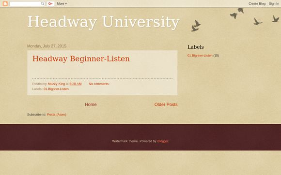 Headway University