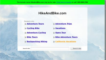 Hike And Bike