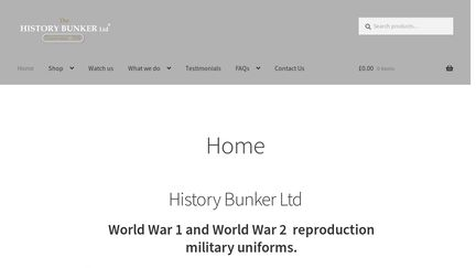 HistoryBunker.co.uk