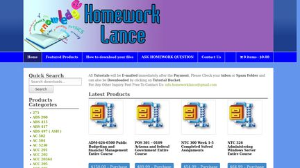 HomeworkLance