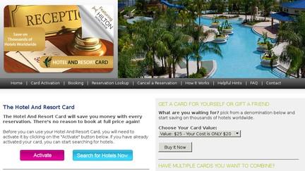 HotelAndResortCard