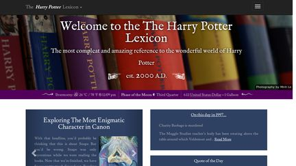 Harry Potter Lexicon