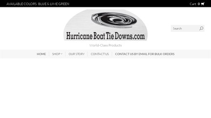 HurricaneBoatTieDownsLLC
