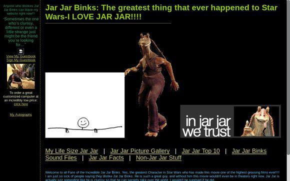 I Love Jar Jar Binks