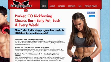 Parker CO Kickboxing Classes