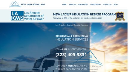 Attic Insulation Labs