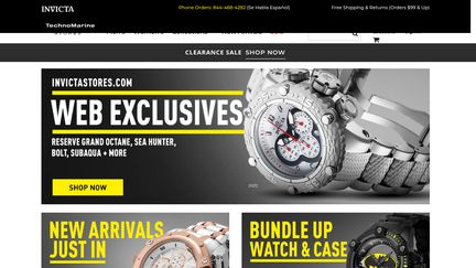 Invicta Watch Stores
