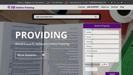 Iqonlinetraining.com