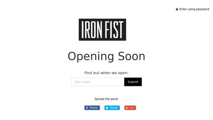 Iron Fist Clothing