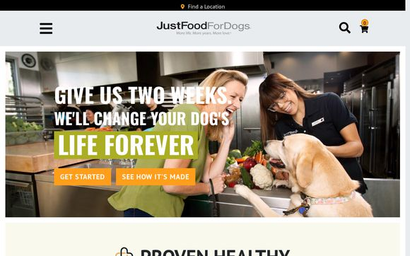 JustFoodForDogs
