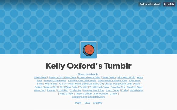 Kelly Oxford's Tumblr