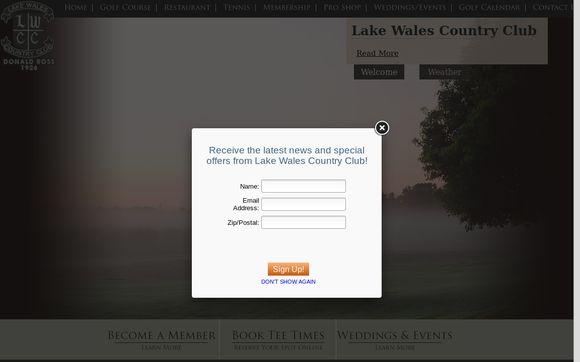 LakeWalesCountryClub.net