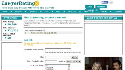 Lawyerratingz.com