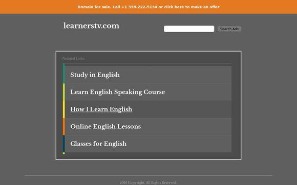 Learnerstv