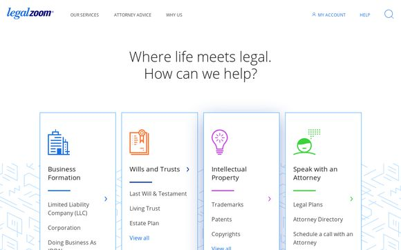 LegalZoom: Start a Business