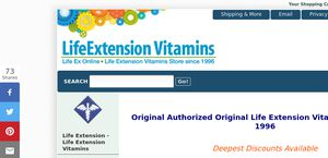 Life Extension Vitamins